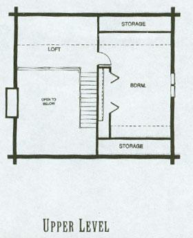 Stone City Log Homes Log Home Plan Details